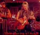 ZOOM: Clarence & Alvin, notice the orange Gretch guitar