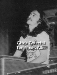 Chick Churchill, keyboard master of Ten Years After