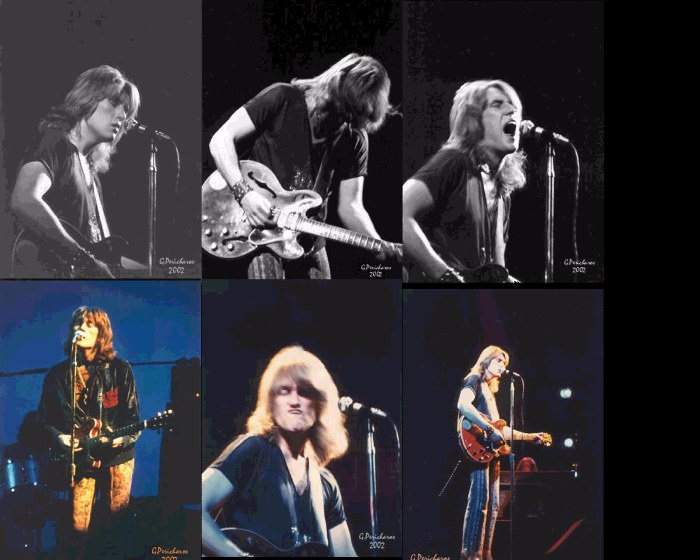 Alvin Lee Of Ten Years After  At The Fillmore
